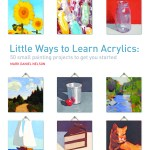 From the Bookcase: Little Ways to Learn Acrylics by Mark Daniel Nelson