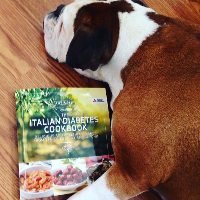 izzy-with-cookbook