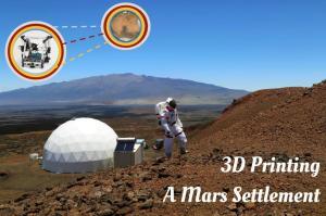 3D Printing a Mars Settlement