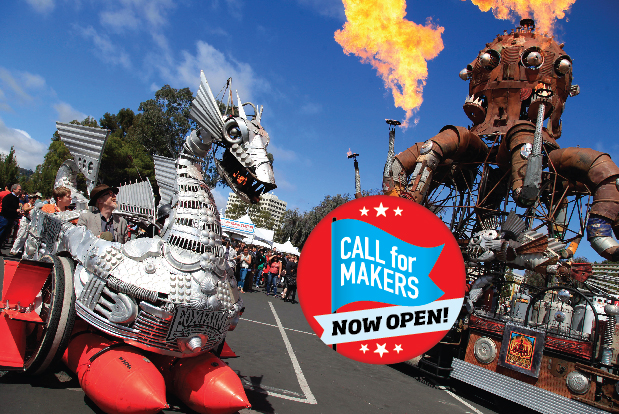 Call to Makers Open for Maker Faire Bay Area 2015
