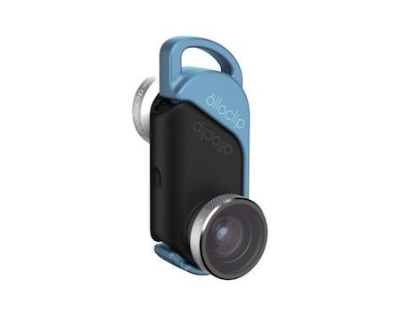 OLLOCLIP 4 IN 1 LENTI PER IPHONE 6 E 6 PLUS CHE RENDE LA FOTOCAMERA UNA MACRO 15X UNA MACRO 10 X UN GRANDAGOLO E UN FISH-EYE