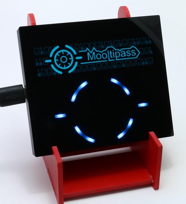 Mooltipass password hub