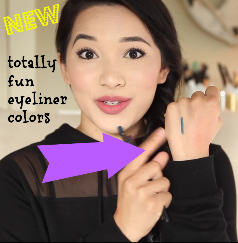 new totally fun eyeliner colors