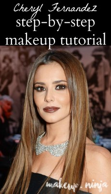 Cheryl Fernandez step by step makeup tutorial