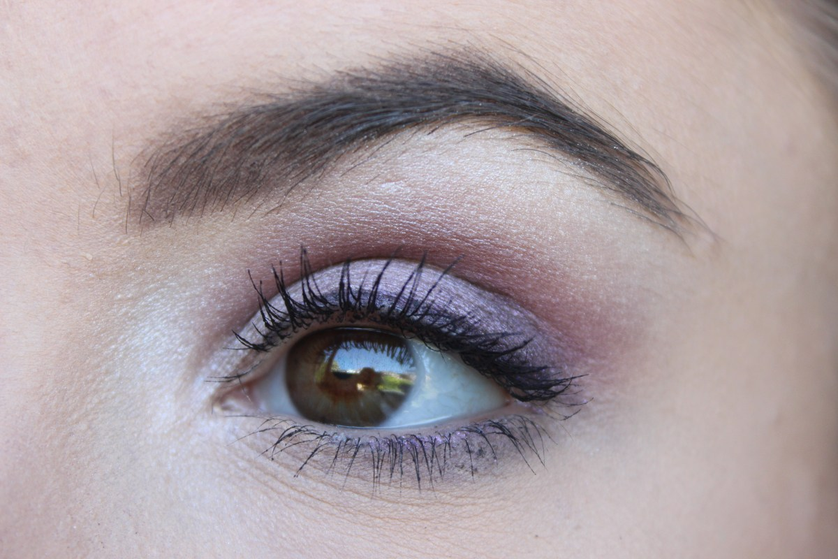 Lilac Eyeshadow Tutorial for Spring