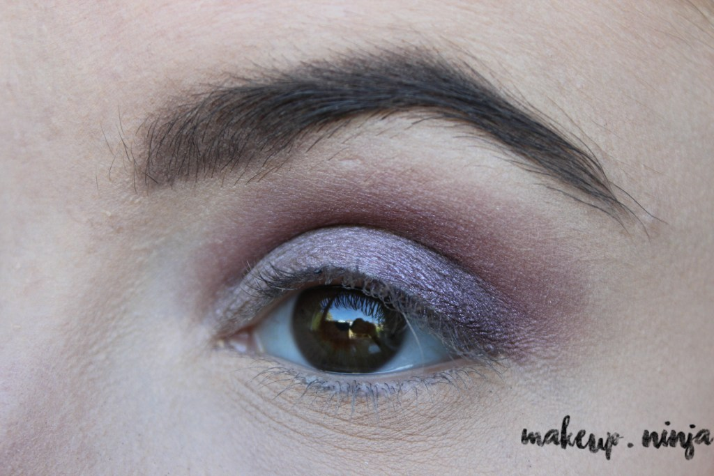 step 6 - Lilac Eyeshadow Tutorial for Spring