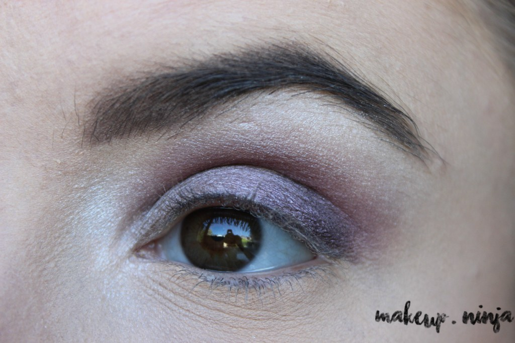 step 7 - Lilac Eyeshadow Tutorial for Spring
