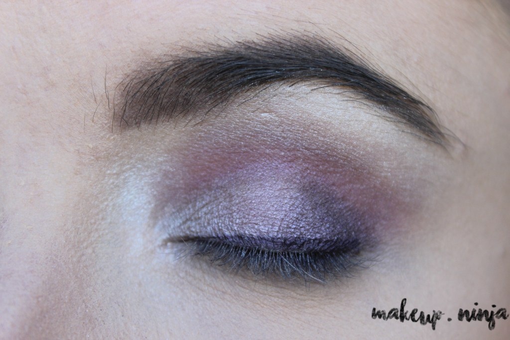 step 9 - Lilac Eyeshadow Tutorial for Spring