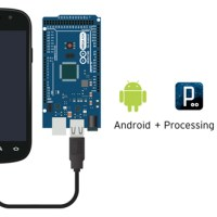 Android Processing and Arduino