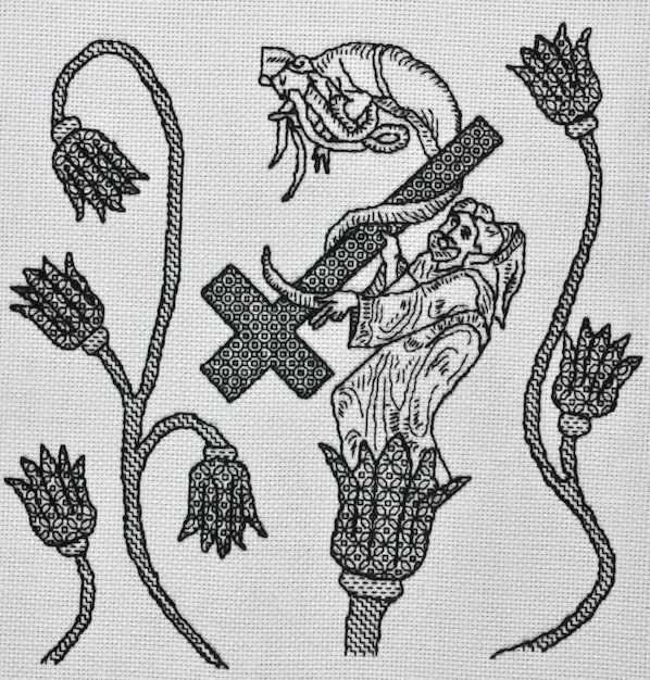 tonibuckby_wet_nuns_blackwork_embroidery_video