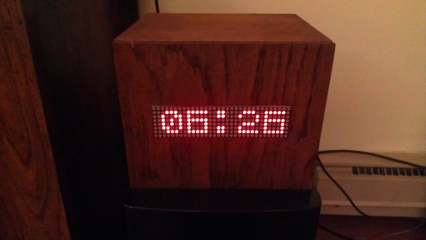I have built a scrolling marquee LED matrix all enclosed in a custom oak box. The matrix is driven by a Raspberry Pi. The project is coded entirely in Python. It currently is set to pull from ESPN's API every 15 minutes and display the current news ticker (filtered for Cincinnati Bearcats). Also been used as a clock. I also have it setup to be used in my wedding this summer. Guests will scan their table cards (via bar-code scanner) and the Pi will display the appropriate table number.