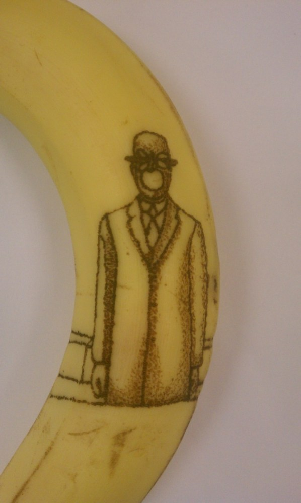Have you ever wanted to tattoo classical works of art onto a banana peel. Of course you have!