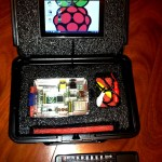 I recently launched a successful Kickstarter campaign for a Raspberry Pi all in one carrying case.  After designing foam packaging for various industries and being an avid techy, I was able to incorporate the best of both worlds. Now you can have a portable command station for your pi, and not have to worry about damage again.