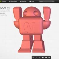 The MAKE Robot on Sketchfab