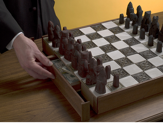 13/17: Secret Chessboard Compartment, Andrew Lewis (link)