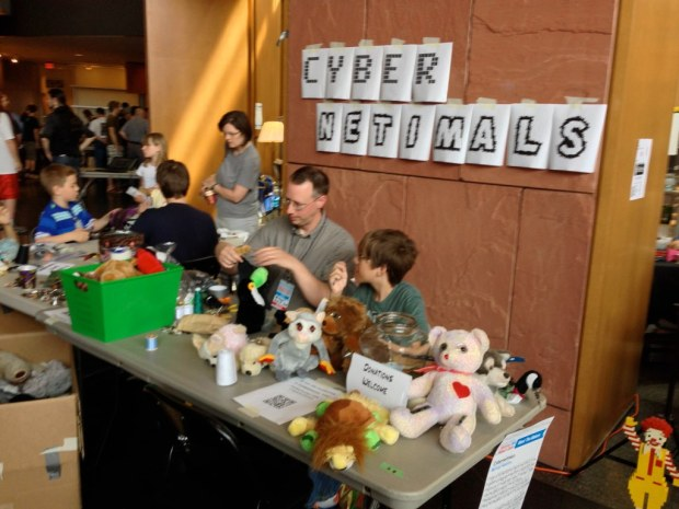 Cyber Netimals – make your own augmented stuffed toy!