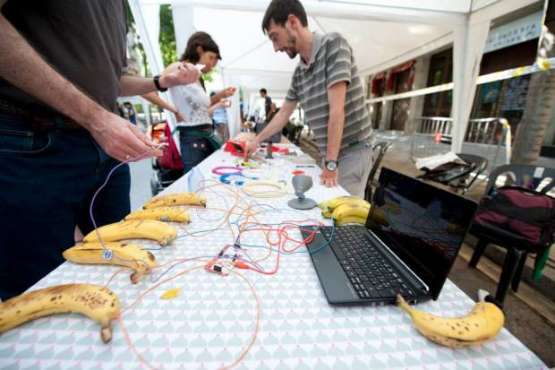 Everyone loves to play with MaKey MaKey.