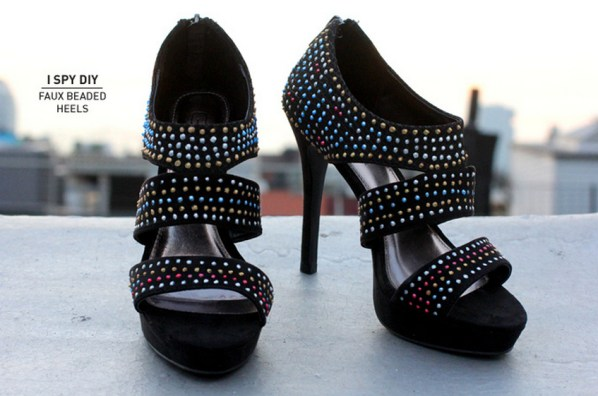 faux beaded high heals-1