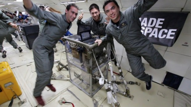 A micro-gravity flight is a crucial milestone towards flight certification at NASA's Marshall Space Flight Center