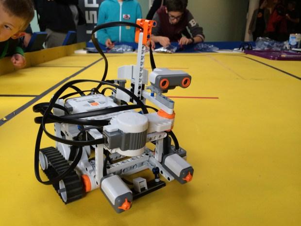 Lego robots.