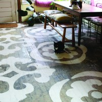 Catherine Weis Painted Floor
