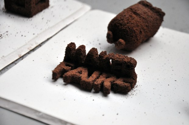 3D-printed chocolate