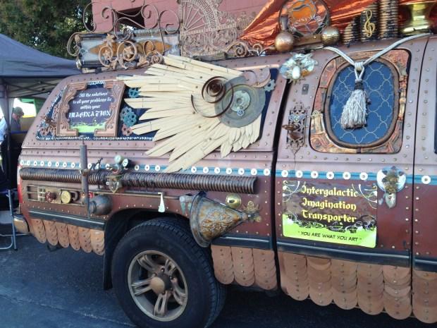 The Intergalactic Imagination Transporter!