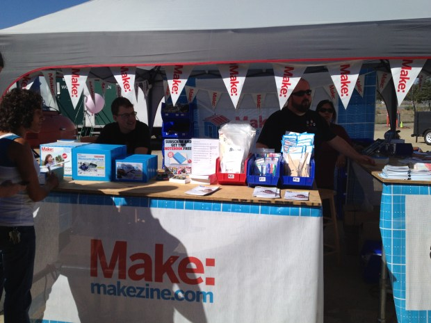 The Maker Shed crew representing!