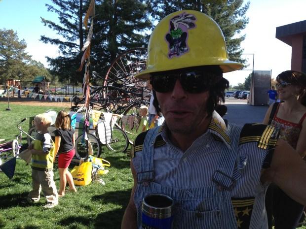 FBUC member Joshua Thwaites ensures safety first.