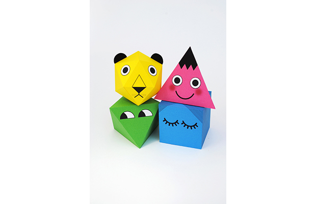 Printable geometric characters