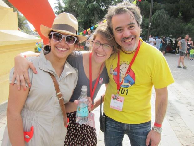 Team Santiago:  Claudia, Maca, Tiburcio