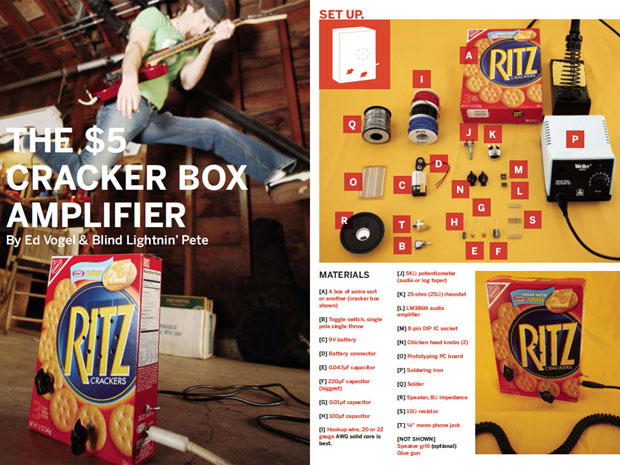 Cracker Box Amplifier