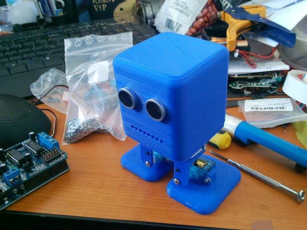 Read more >> Build your own biped robot.