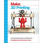 The Make: 3D Printing book is a a collection of all the best refreshed MAKE 3DP content to date and a few new pieces that have not yet been published in print.  The book is a snapshot of the 3D printing universe and discusses a wide range of topics; including: how to  getting started with a desktop 3D printer, when to us 3D printing services, finishing techniques for 3D prints, and casting chocolate using 3D printed molds.