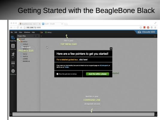 Getting Started with BeagleBone Black Slide8