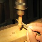Use a Drill Press as a Lathe
