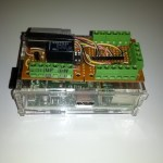 The purpose of this project is to build a device to control an electric garage door opener and show the status of the door, via the web, and make it smart phone friendly. This project was started under a different platform, and migrated to the Raspberry Pi once it became available.  Project Link