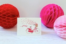 Printable: Bicycle Valentine Card