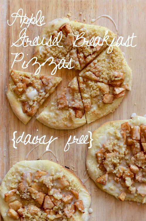 Apple-Streusel-breakfast-pizzas