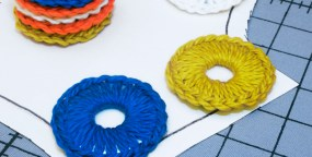 How-To: Crocheted Washer Sewing Pattern Weights