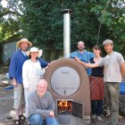 Wood-Fired Barrel Oven