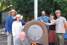 Wood-Fired Barrel Oven