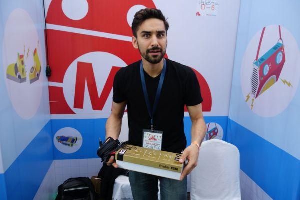 Bilal Ghalib represented LittleBits.