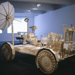Peter Hennessey's 1:1 plywood Lunar Rover.