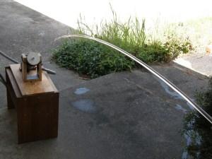 Early Nozzle Test Design — 15' Range