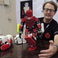 Robot evolution through 3D printing.