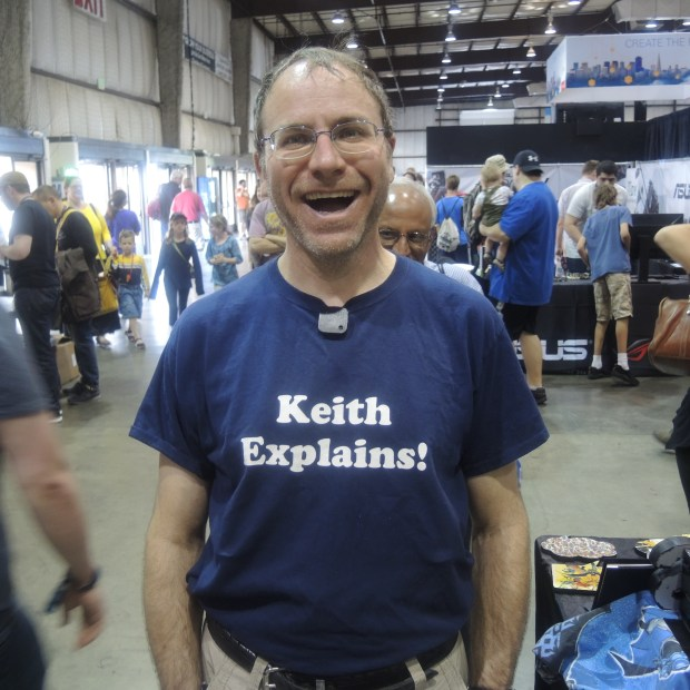 Tell us, Keith…