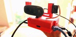 """Raspberry Eye"" Remote Servo Camera"