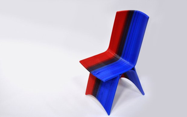 The popular rounded chair design.