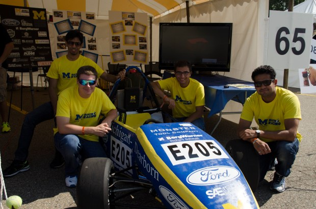 UofM Dearborn makes electric race cars